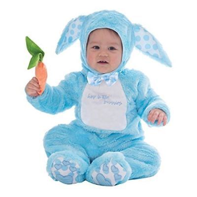 Baby Toddler Boy Rabbit Blue Little Wabbit Costume Easter Bunny Fancy Dress - Baby Blue Bunny Kostüm