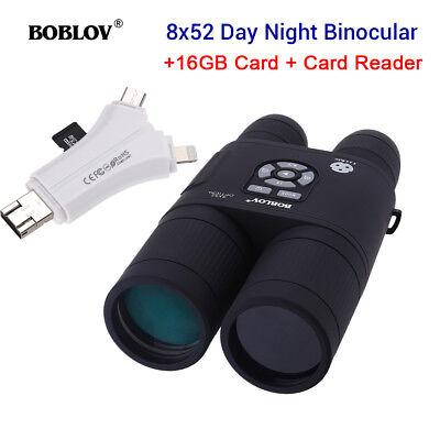 BOBLOV Night Vision Scherenfernrohr+16GB +SD & Micro SD Speicherkarten-Lesegerät online kaufen