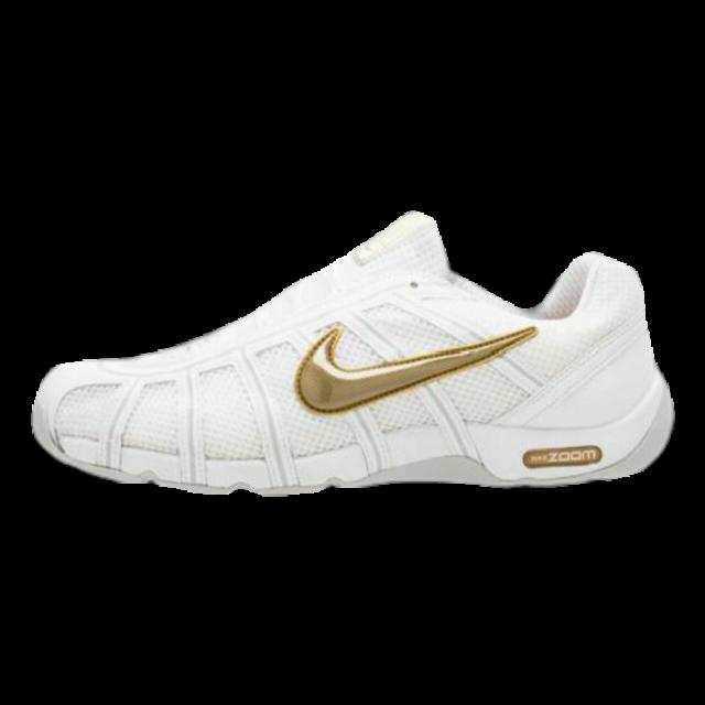White Nike Running Sneakers