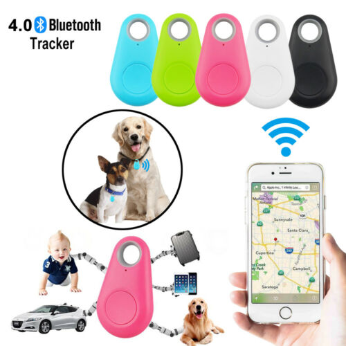 Mini Bluetooth GPS Tracking Finder Device Tag Pet Key Child Car Tracker Locator