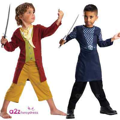 KIDS THE HOBBIT BILBO BAGGINS OAKENSHIELD BOOK DAY CHARACTER FANCY DRESS COSTUME (Bilbo Hobbit Kostüm)
