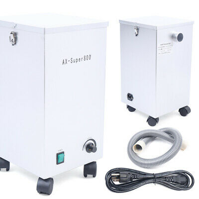 800w Dental Lab Dust Collector Dust Removal Vacuum Dust Cleaner 26kpa 110v