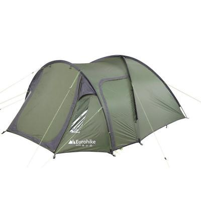 New Eurohike Avon Deluxe Camping Equipment 3 Person Festival Tents