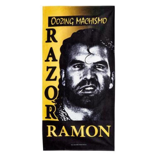 WWE Authentic Razor Ramon Oozing Machismo 30 x 60 Beach Towel BRAND NEW