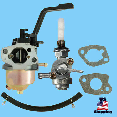 A-ipower Carburetor W Left Petcock Filter For Sua3500 Sua4000 3500 Generator