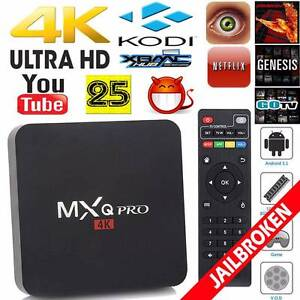 MXQ Pro 4K UHD S905 2.0GHZ Quad Core Android 5.1 TV Box KODI Adelaide CBD Adelaide City Preview