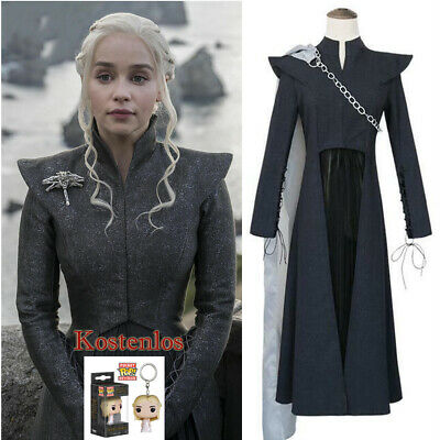 Mother of Dragons Game of Thrones Season 7 Daenerys Targaryen Kostüm Cosplay - Daenerys Targaryen Game Of Thrones Kostüm