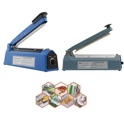 8 12 16 Hand Impulse Heat Sealer Plastic Bag Film Sealing Machine Metal Abs