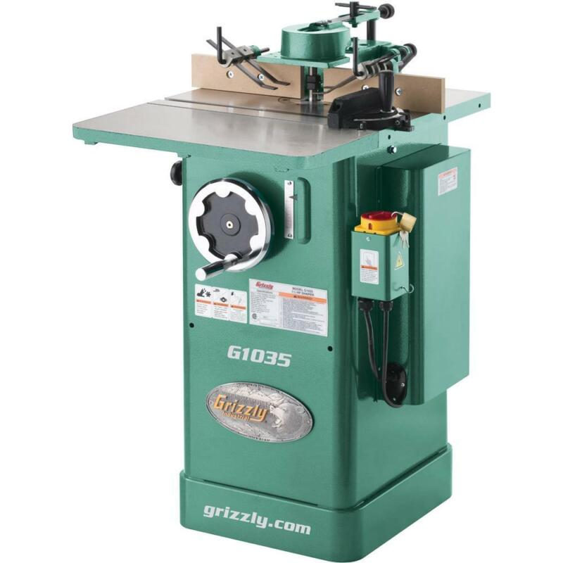 Grizzly G1035 1-1/2 HP Shaper