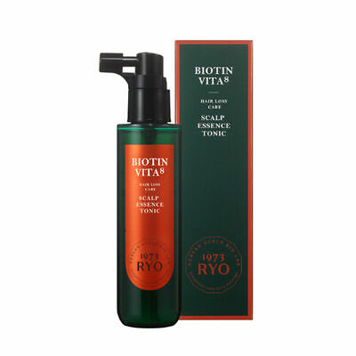 Ryo Heritage Biotin Vita Hair Loss Care Scalp Essence Tonic 80ml K-Beauty
