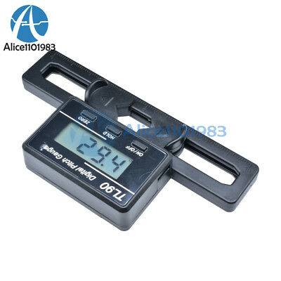 Digital Pitch Gauge (LCD Digital Display Pitch Gauge For 200-800 Flybarless Helicopter Models)