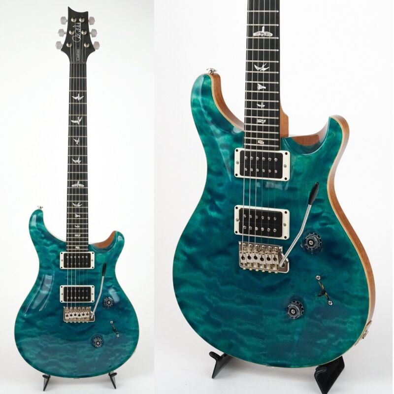 Paul Reed Smith Prs 2017 Custom 24 Blue Matteo Electric Guitar