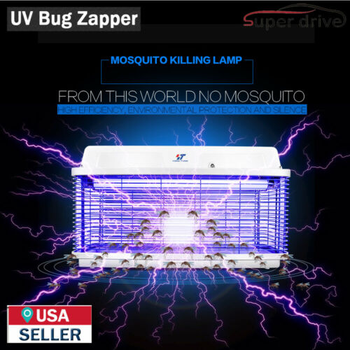 Waterproof 20W UV Light Electric Bug Zapper Insect Killer Fly Mosquito Killer
