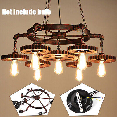 Best Lamp Chandelier Light Fixture Steampunk Ceiling Fixtures Lighting