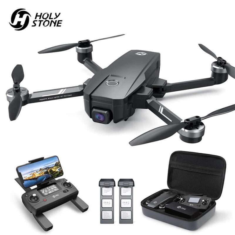 Holy Stone HS720E Drone with 4K UHD Camera EIS Anti-Shake Foldable Brushless GPS