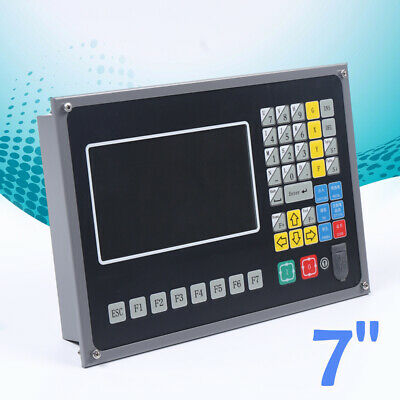 2-axis 7 Lcd Display Cnc Control System For Plasmaflame Cutter W Arm Chip Usa