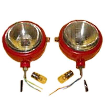 Set Of Rh Lh Head Lightlamp For Massey Ferguson 35 35x 65 765 Te20 Tea20