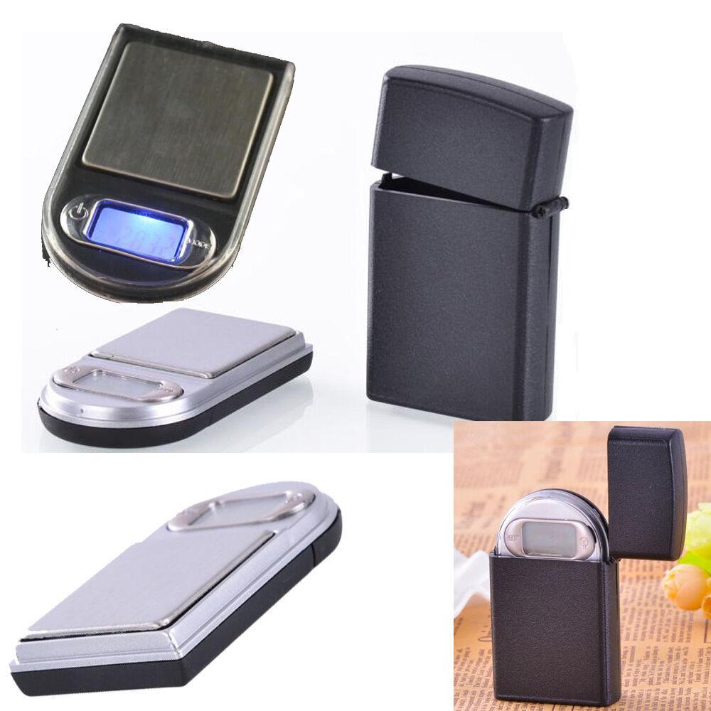 0.01~200g Auto Calibration Gram Mini Lighter Style Digital LCD Pocket Scale