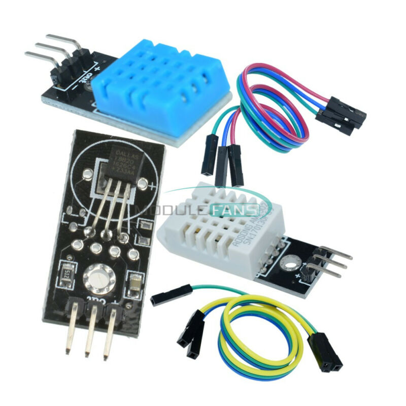 DHT22/AM2302 Temperature and Humidity Sensor DHT11 DS18B20 Temperature Module