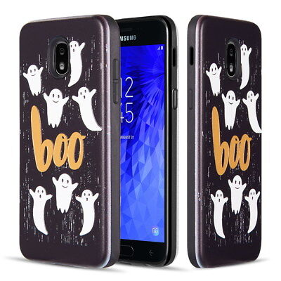 Spooky Halloween Case For Galaxy J3 V 2018 / Achieve /Star /Express/Amp Prime 3