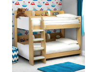 Julian Bowen 'Domino' kids storage bunk bed