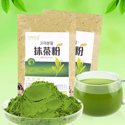 3.52oz/ 100g Japanese Organic Matcha Tea Powdered Natural Green Tea Powder New