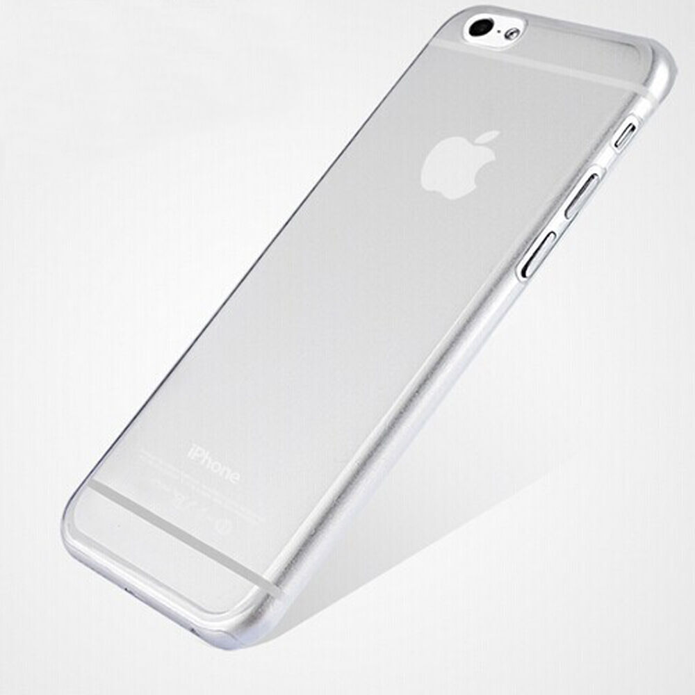 new Ultra Thin Hard Back Case Cover Clear Transparent For iPhone 6 Plus 5.5