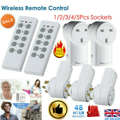 10A 2400W WIFI Wireless Smart Switch Remote Control Socket UK Plug Outlet Switch