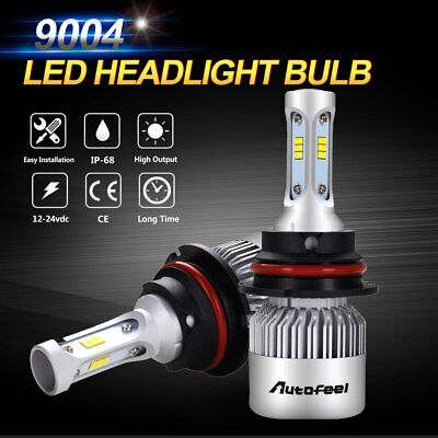 2x 9004 LED Headlight Kit 960W 144000LM CREE Hi/L Bulbs 6000K White High Power