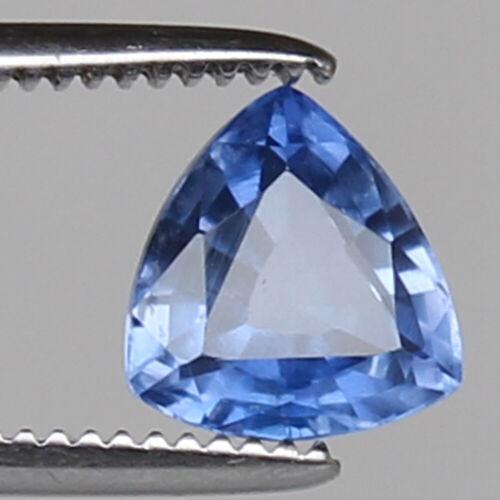 Natural Sapphire Ceylon Cornflower 3.35 Ct Trillion Loose Gemstone Certified