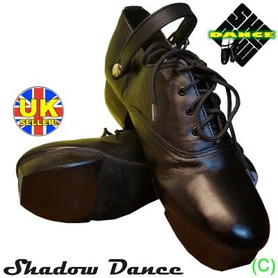 Real Irish Leather - BRAND NEW! IRISH HEAVY SHOES JIG HARD DANCE DANCING GENUINE LEATHER (CC)