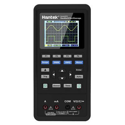 Hantek 2d72 Handheld 70mhz 3 In1 Oscilloscope Waveform Generator Multimeter Q4t8