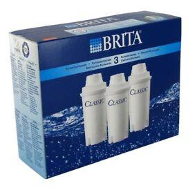 BRITA Classic Water Filter Cartridges - 3 Pack