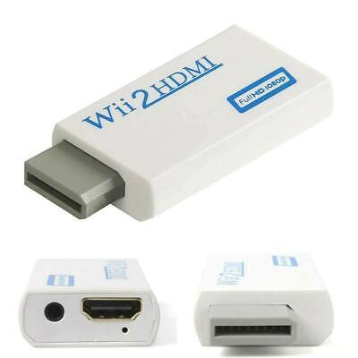 Entrada de Wii a HDMI 1080P Adaptador convertidor de salida de audio...