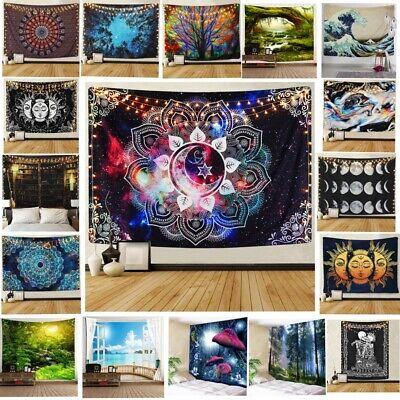 USA Psychedlic Mandala Tapestry Hippie Room Wall Hanging Blanket Art Home Decor Art Deco Wall Hanging