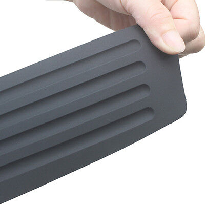 Ford Aerostar Bumper Cover (1 set New Rear Guard Bumper Trunk Sill Plate Rubber PAD Protector Trim Cover)