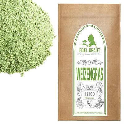 250g BIO WEIZENGRAS | EDEL KRAUT Premium Weizengraspulver WHEAT GRASS POWDER
