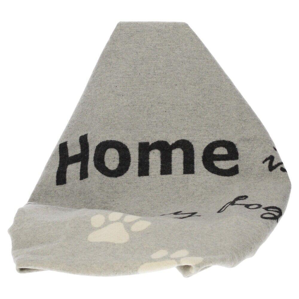 David Fussenegger Haustierdecke Home is where my dog is filz