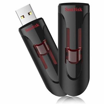 32GB - SanDisk Cruzer Glide USB 3.0 Flash Memory Pen Drive Thumb Stick