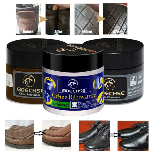 2 Pcs Leather Repair Cream Filler Leather Restoration Cracks Burns Hole Wax Crafts