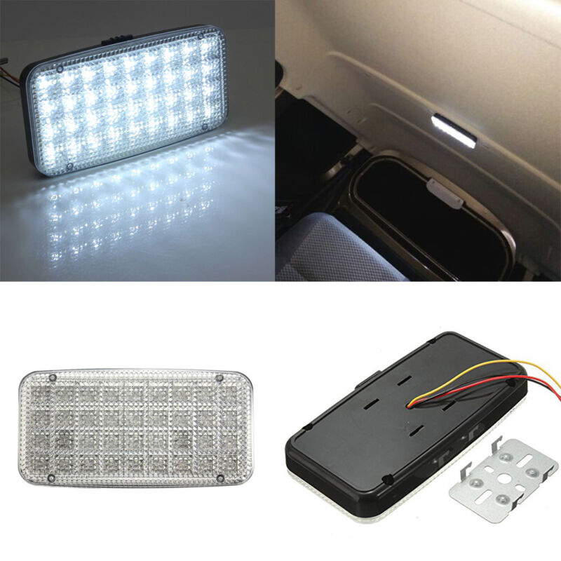 """8/"""" RV Marine Yacht Interior Ceiling Dome LED Light with Switch 12V 8W 6000K"""
