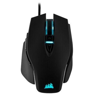 Corsair M65 RGB Elite Ratón Gaming USB 8 Teclas Óptico 18.000Dpi Negro