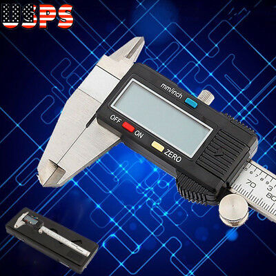 12 Digital Electronic Vernier Caliper 300mm Lcd Screen Caliper Micrometer Mea