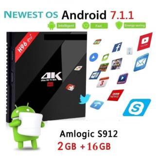 2GB/16GB H96 PRO Android 7.1 TV Box S912 Bluetooth kodi wifi BT Doveton Casey Area Preview