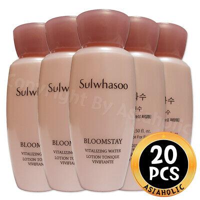 Sulwhasoo Bloomstay Vitalizing Water 15ml x 20pcs (300ml) Sample Newist Version