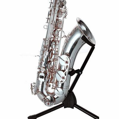 Brand New HB Tenor BB Saxophone Yellow Brass Body Silver Plated christmas - Bb Christmas Saxophone