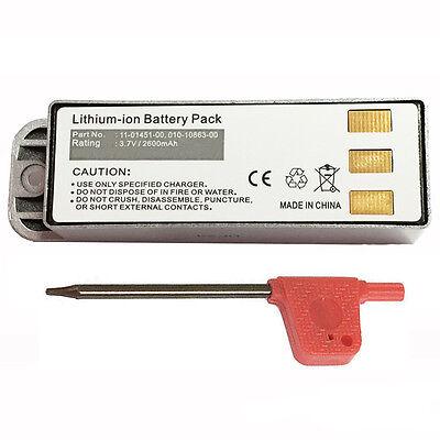 2600Mah 010 10863 00 011 01451 00 Battery For Garmin Zumo 400 450 500 550 Gps