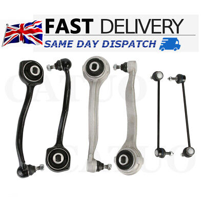 For Mercedes Benz C Class Front Upper Suspension Lower Wishbone Arms Links Kit