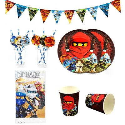 38pcs Kai Jay Ninjago Ninja Theme Party Supplies - Ninja Party