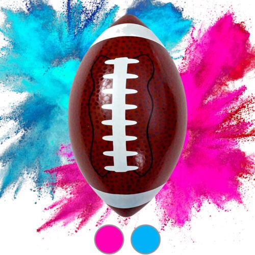 "Gender Reveal Football Kit (1 Football 6.8"" + Pink Powder + Blue Powder)"